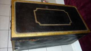 For Sale Antique Shipping Trunk