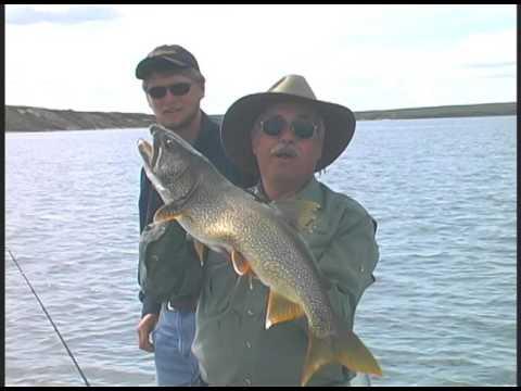 Lake Trout & Grayling fishing at Tukto Lodge, Canada