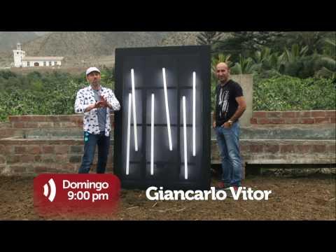 Detrás del Arte (TV Perú) - Giancarlo Vitor - 18/12/16  (promo)