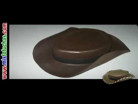 Cómo hacer sombrero de vaquero en foami para disfraz halloween de Woody Toy  Story Disney Pixar 28a2cd7a5bc