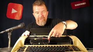 Typewriter Video Series - Episode 124: Olympia report electronic