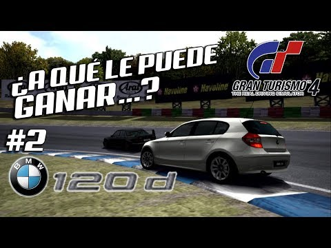 ¿A QUÉ PUEDE GANAR UN BMW DIESEL? | Gran Turismo 4 | PS2 (PCSX2) thumbnail
