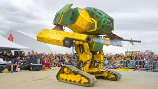 15 Most Incredible Giant Robots In The World