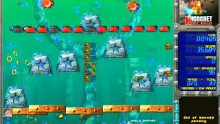 ricochet recharged  level set I created  { start with 115 lives finish with 13} hard one