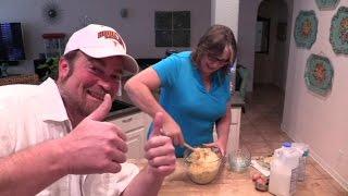 Karen's Spicy & Cheesy Cornbread Recipe