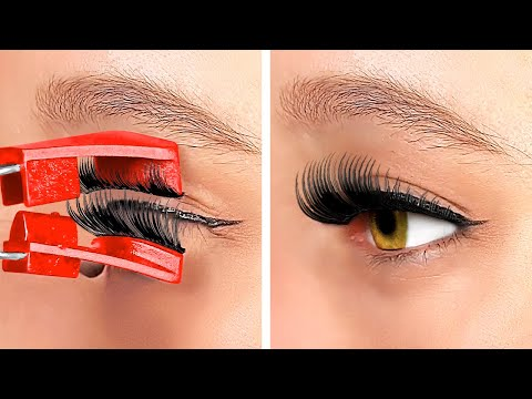 LIVE 24/7 Girly Hacks And Tricks || Genius Beauty And Makeup Hacks, DIY Clothes Designs