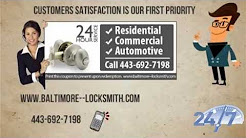 Baltimore  Locksmiths (443) 692-7198 Door Repair Car Lockout Service Home Security