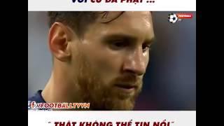 Cả thế giới phải quỳ lạy trước pha đá phạt của Messi!