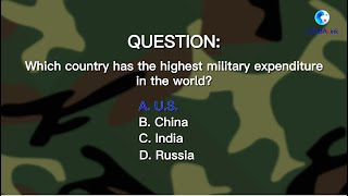 GLOBALink | Highest military expenditure in world, U.S. turned it into a sword