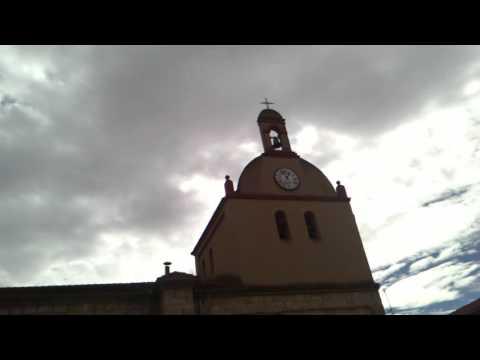 Así suenan las campanas de la iglesia de Castrillo de Don Juan