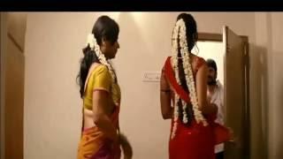 Repeat youtube video Hot actress anushka navel show in saree while dress change- slowmo edited