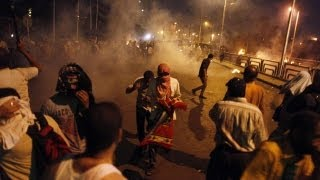 Egyptian protesters blame military after dozens killed in Cairo