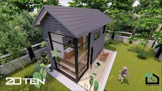 Tiny Home  Pertama Di Malaysia -concept : Rustic Glamorous