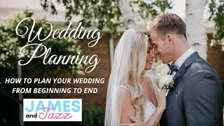 How To Plan Your Wedding From Beginning To End || Wedding Planning Course || Enjoy Your Engagement