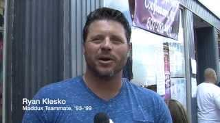 Ryan Klesko, is Greg Maddux the smartest guy you've ever met?