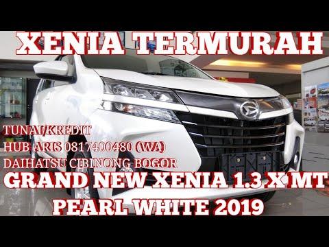 XENIA X STD 2019 TERMURAH | DAIHATSU GRAND NEW XENIA 1.3 X MT PUTIH MUTIARA 2019 - INDONESIA thumbnail