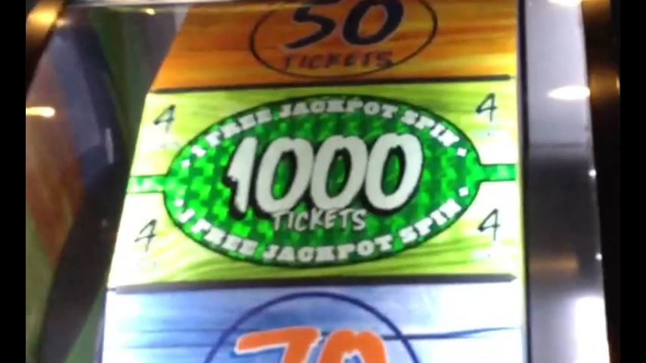 Crazy Dave And Busters Big Bass Wheel Jackpot Win As It