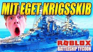 MIT EGET KRIGSSKIB- BATTLESHIP TYCOON - DANSK ROBLOX - [#1]