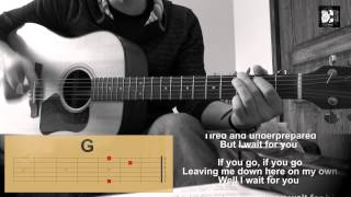 Coldplay - In my place. How to play the song. Cover, chords, lyrics. Guitar acoustic. New song