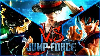 GOKU VS NARUTO VS LUFFY - JUMP FORCE