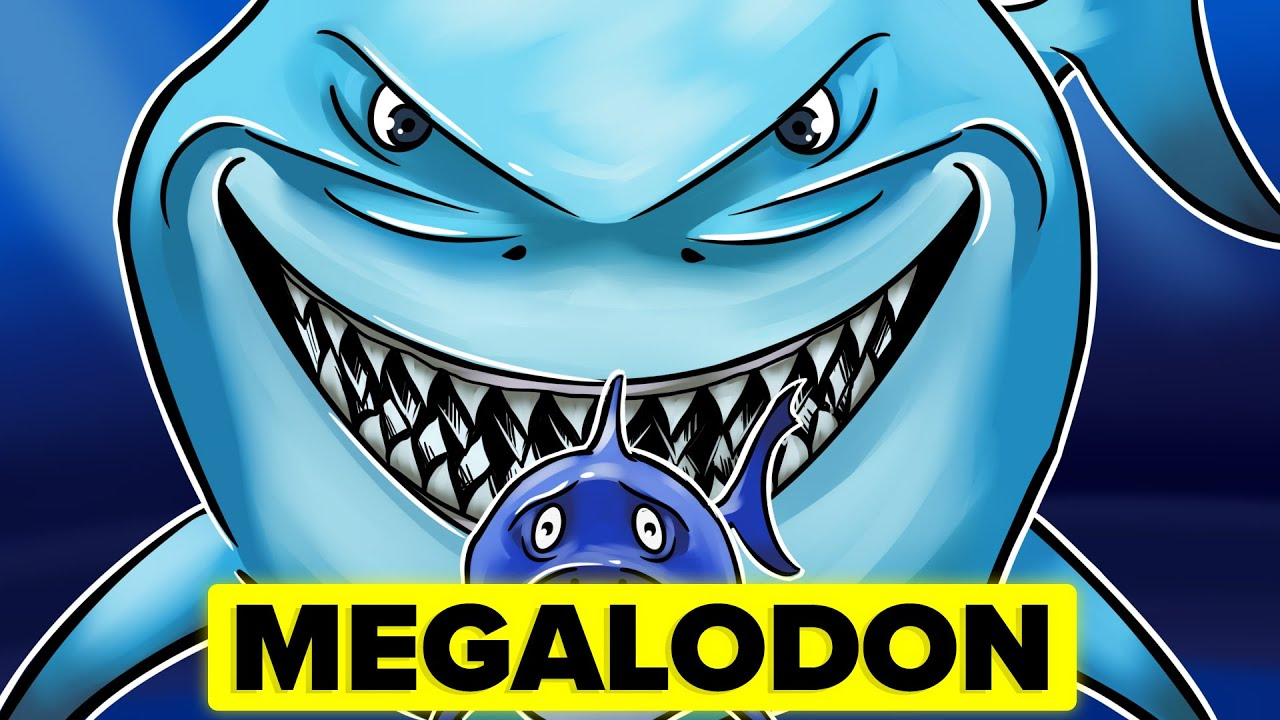 MEGALODON vs MODERN DAY SHARK – How Do They Actually  Compare