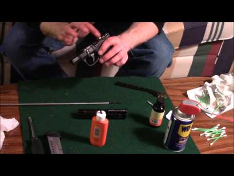 Smith and Wesson M&P shield 9mm field strip cleaning
