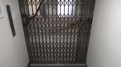 Antique 1929 Gated Otis elevator 70 Woodfin place Asheville NC