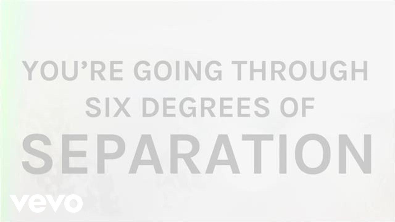 The Script Six Degrees Of Separation Lyric