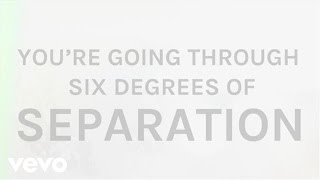 The Script Six Degrees Of Separation Lyric Video