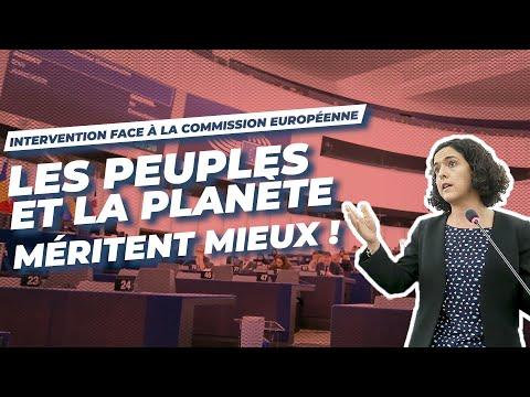 VOTE DE LA COMMISSION EUROPEENNE : LES PEUPLES ET LA PLANETE MERITENT MIEUX !