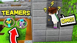 1 ITEM CHALLENGE VS TEAMERS IN SOLO! (Minecraft Skywars)