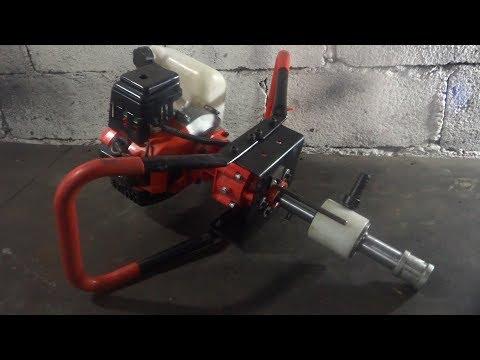 máquina-a-gasolina-manual-com-cabeça-d'água-para-furar-poço-artesiano.