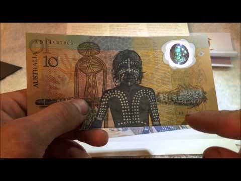 Australian Polymer Banknotes - The First Polymer Note