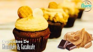 Cupcakes de Chocolate & Cacahuate   Quiero Cake