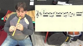 Despacito Luis Fonsi ft  Daddy Yankee Pito Galego Flauta Partitura Midi Melodía Notas