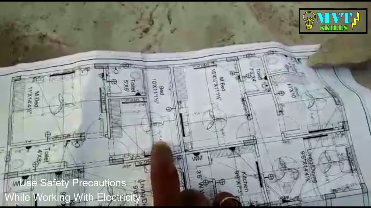 How To Electrical Drawing Of Apartment Building. 1 T 5 Floor ...