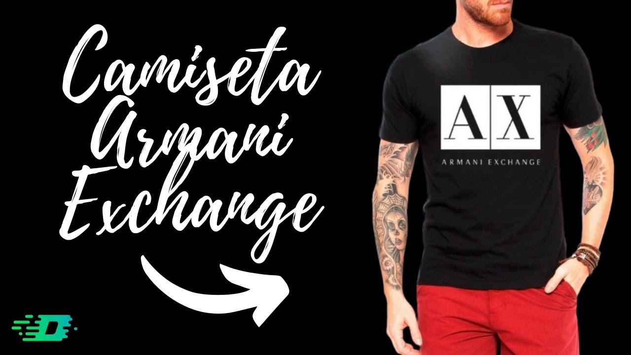 Camiseta Armani Exchange 100% Original - Loja Império Duarte - YouTube 2598f1e84b4