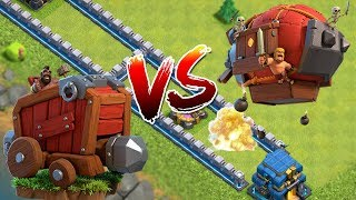 MAUERVERNICHTER vs KAMPFZEPPELIN! 💓Clash of Clans 💓CoC