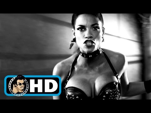 SIN CITY: A DAME TO KILL FOR Movie Clip - Gail and Dwight |FULL HD| Rosario Dawson Action Movie 2014