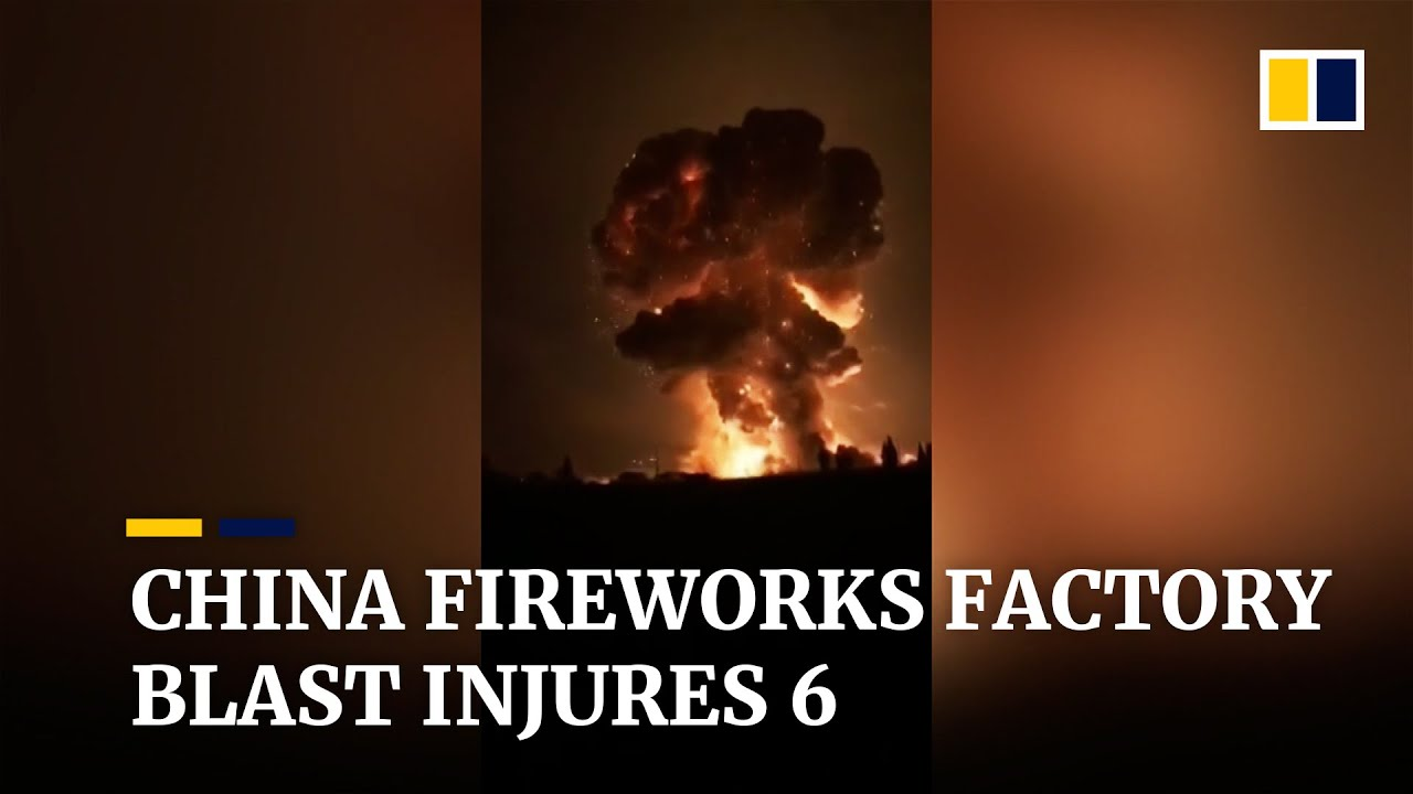 Six injured in fireworks factory blast in southwest China