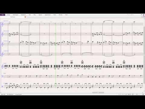 Runaway - The Corrs (Score)