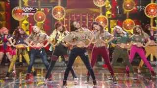 vuclip [1080p HD] 130104 Music Bank SNSD - Dancing Queen+I Got A Boy