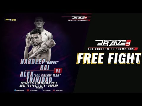 BRAVE 9 Sam Patterson Vs Hardeep Rai