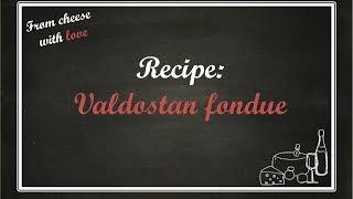 Valdostan Cheese Fondue Recipe - Ricetta Fonduta Formaggio Valdostana