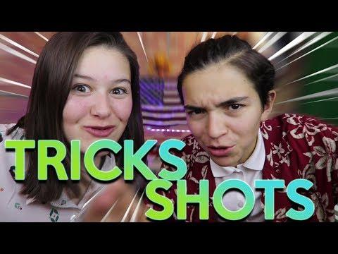 ON FAIT DES TRICKS SHOTS! (Comme Dude Perfect)