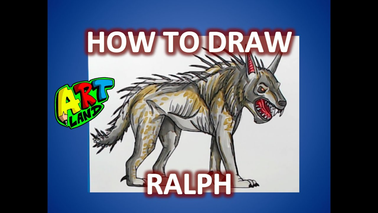 How To Draw Ralph From Rampage Youtube