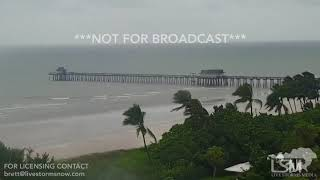9-10-2017 Naples, FL - Aerial Hurricane Irma