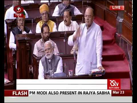 Finance Minister Arun Jaitley's reply in the Rajya Sabha on Finance Bill 2017