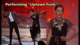 "Download Lagu Millie, Gaten and Caleb performing ""Uptown Funk"" *THROWBACK* mp3"