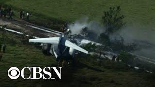 Plane crashes near Houston Executive Airport in Texas | full coverage